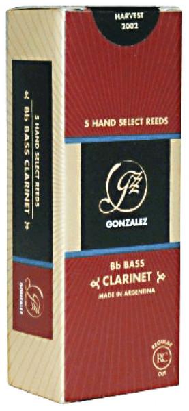 GONZALEZ-Blätter RC Baß-Klar. 3