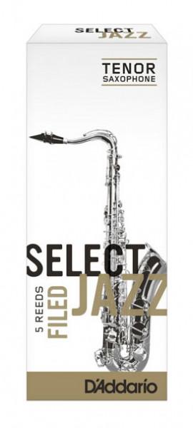 D'ADDARIO Select Jazz-Blätter filed Tenor 3Medium