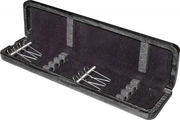 aS-Blattetui für Fagott, 6 Rohre, schwarz
