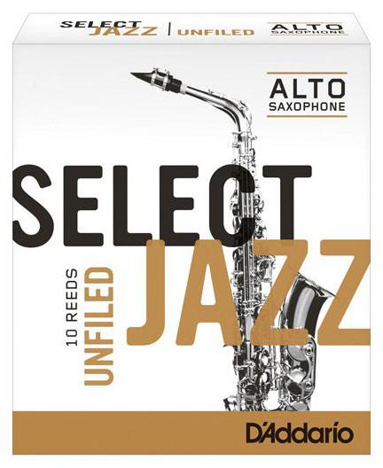 D'ADDARIO Select Jazz-Blätter unfiled Alt 2 Hard
