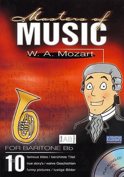 """PLAY ALONG - Master of Music \""""W.A.Mozart\""""-Bar/Horn"""