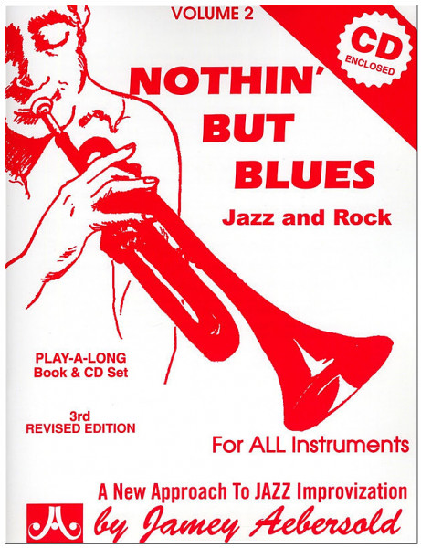 Aebersold:Nothin' but Blues mit CD Vol. 2