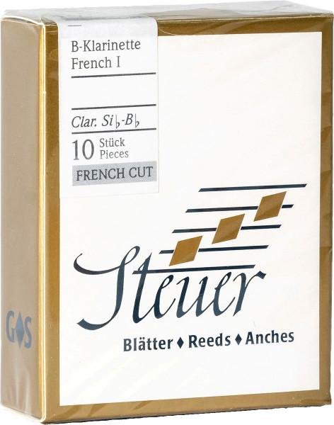 STEUER-Blätter -French White Line- Klar 2,5