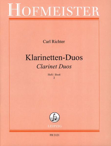 Duette für Klarinetten-Anfänger H.2