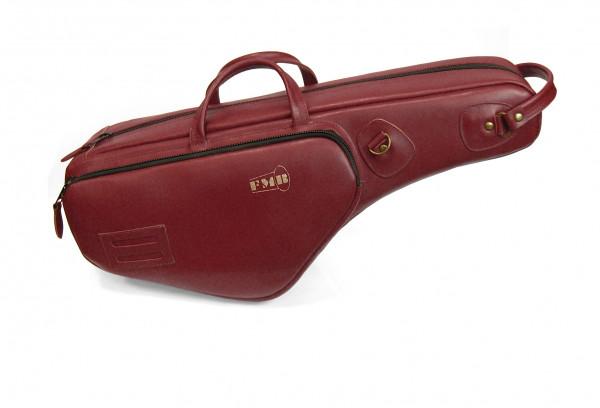 FMB-Bag Altsax Leder, bordeaux