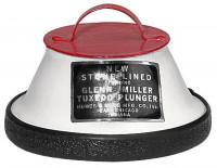 New-Stone-Lined Mute ST-155 for Tenor-Trombone, Glenn Miller (Tuxedo Plunger)
