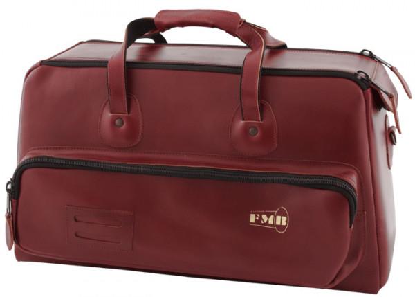 FMB-Bag Flügelhorn Leder, bordeaux