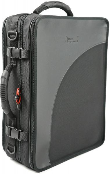 BAM-Doppeletui -Trekking- für Boehm A/B-Klarinette, schwarz