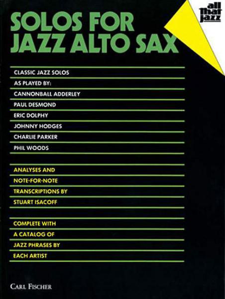 Isacoff: All That Jazz Altsax.