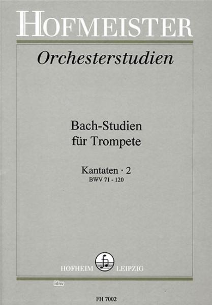 Bach-Studien Kantaten Heft 2