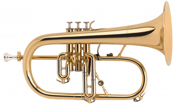 COURTOIS-Flügelhorn 154 Goldmessing