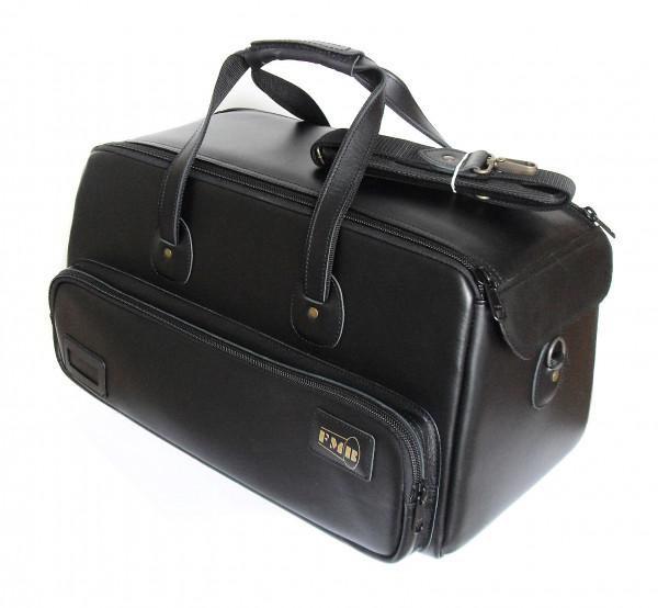 FMB-Bag 3 Trompeten Leder, schwarz