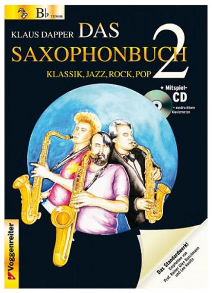 Dapper: Das Saxophonbuch Bd. 2