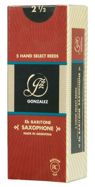 GONZALEZ-Blätter RC Bariton 2 1/2
