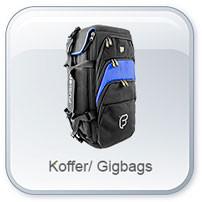 Koffer und Gigbags