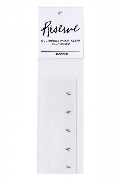 D'ADDARIO-Bißplatten transparent 0,35 mm