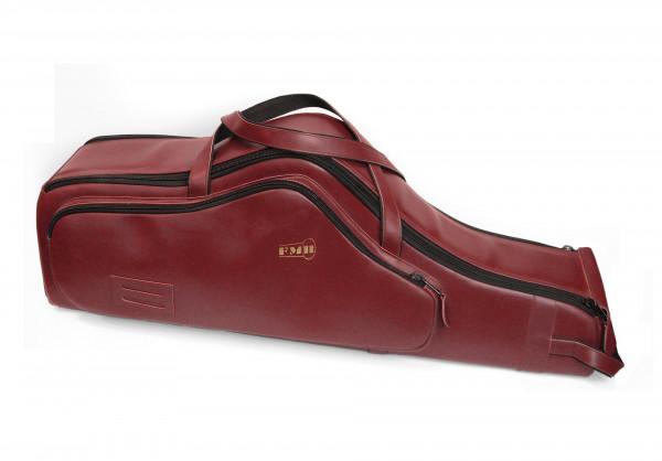 FMB-Bag Tenorsax -extra protection- Leder, bordeaux