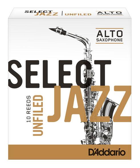 D'ADDARIO Select Jazz-Blätter filed Alt 3Hard