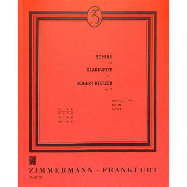 Kietzer: Klarinettenschule Bd. I