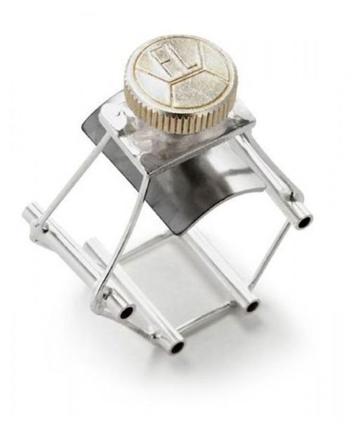 FL-Ultimate Ligature Baßklarinette silver