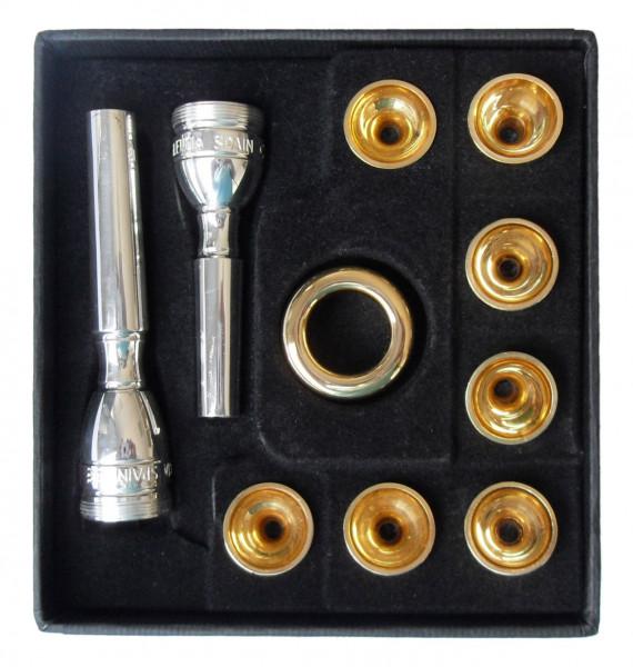 STOMVI-Trompetenmundstück Nr. 0,5, Combi System 8005 0,5