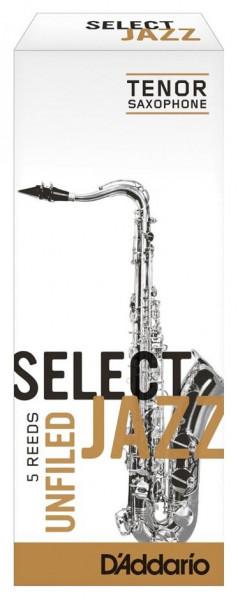 D'ADDARIO Select Jazz-Blätter unfiled Tenor 2Soft