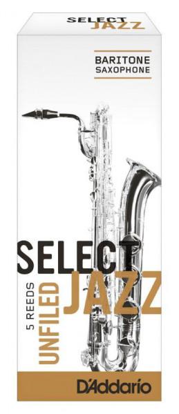 D'ADDARIO Select Jazz-Blätter unfiled Bariton 2Medium