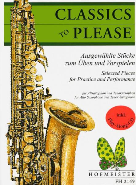 CLASSICS TO PLEASE: Alt-/Tenorsaxophon