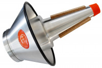 TOOLS-4-WINDS-Trombone Mute, Cup adjustable, made from Aluminium.