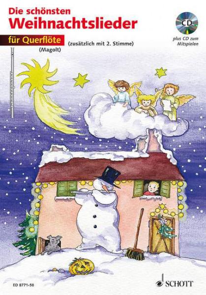 Magold:Die schönsten Weihnachtslieder Querflöte + CD