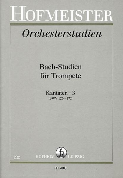 Bach-Studien Kantaten Heft 3