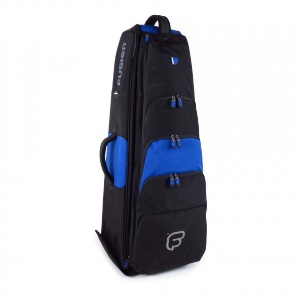 FUSION-Gigbag Bassposaune Premium-Serie, black/blue