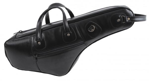 FMB-Bag Altsax Leder, schwarz