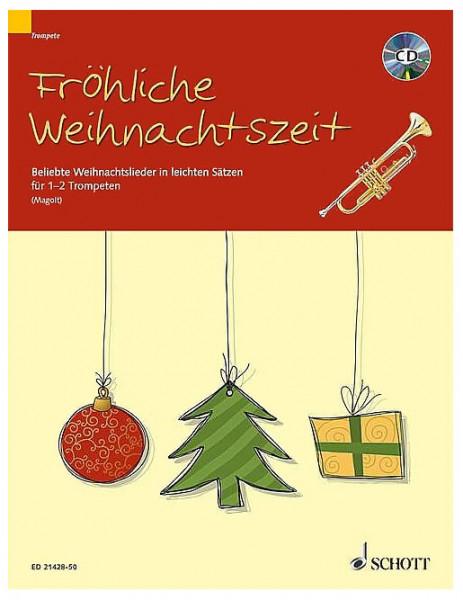 Magolt: Fröhliche Weihnachtszeit für 1-2 Trompeten