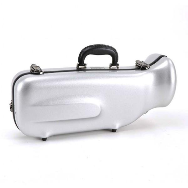 WICONA-Koffer Trompete Glasfaser 170, silber