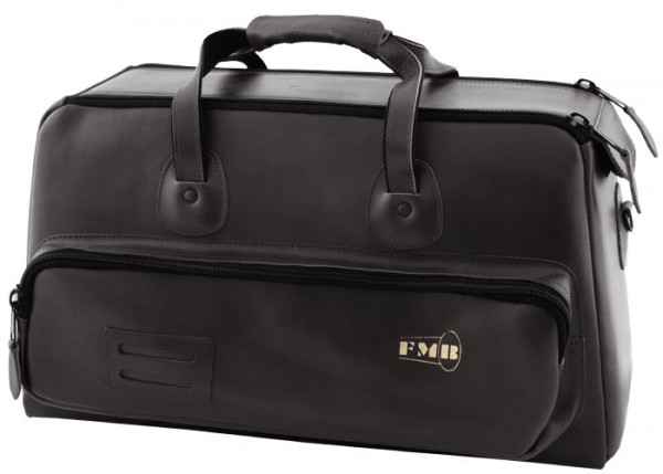 FMB-Bag Flügelhorn Leder, schwarz
