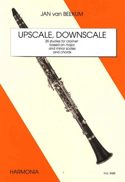 Jan van Beekum: Upscale Downscale für Klarinette