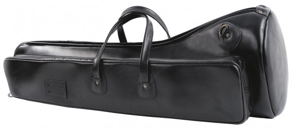 FMB-Bag Posaune Leder, schwarz
