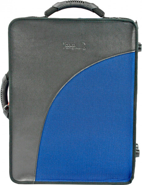 BAM-Doppeletui -Trekking- für Boehm A/B-Klarinette, blau