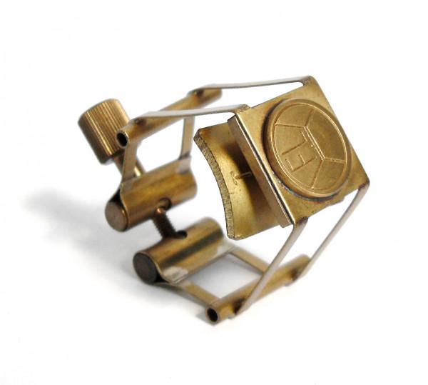 FL-Pure Brass Ligature Klarinette brass