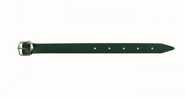 Riemen für Abzeichen, Leder, grün