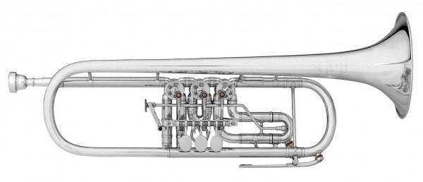SCHERZER-C-Trompete 8217w Goldmessing vers.Trigger