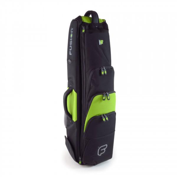 FUSION-Gigbag Posaune Premium-Serie, black/lime