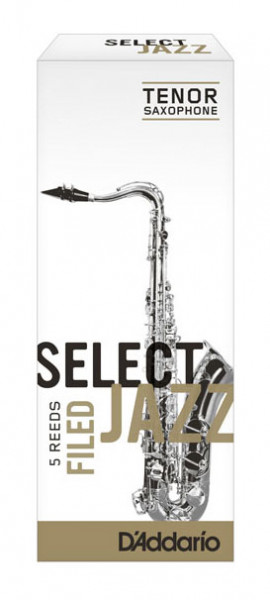 D'ADDARIO Select Jazz-Blätter filed Tenor 4Soft