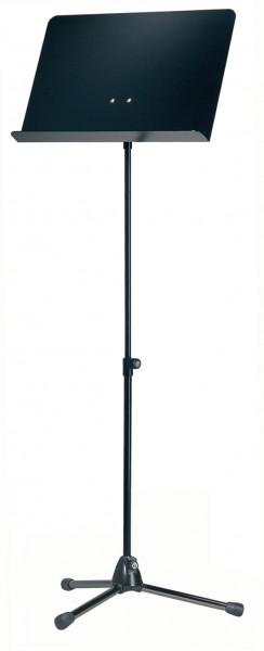 K&M-Orchesterpult 118/1 schwarz / Alu schwarz