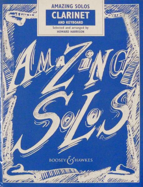 Harrison: Amazing Solos-Klar/ Kl.