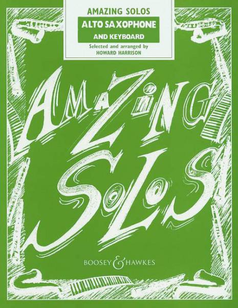 Harrison: Amazing Solos - Altsax. u. Kl.