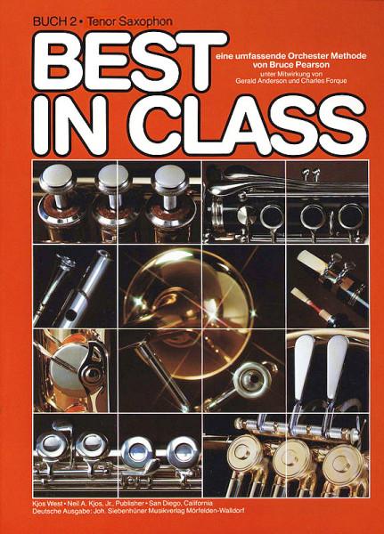 Pearson: Best in Class Tenorsax. Bd. 2