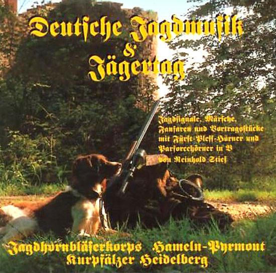 CD-Deutsche Jagdmusik & Jägertag
