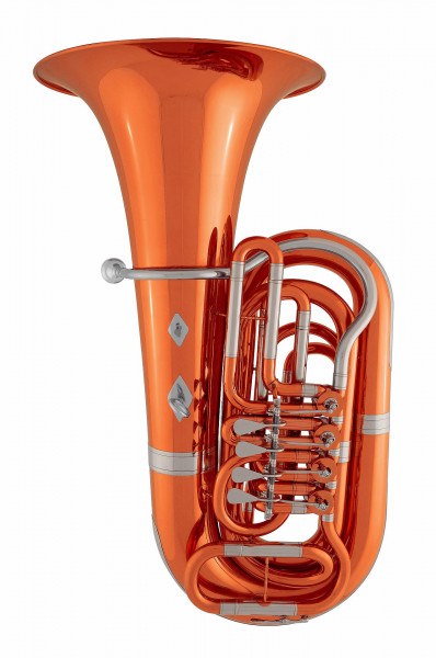ST.PETERSBURG B-Tuba 202LD/45 -red lacquered-